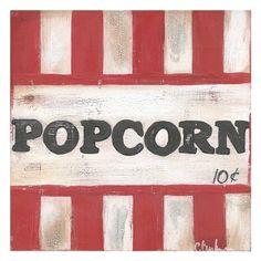 Popcorn Canvas Art - Cassandra Cushman x Canvas Art Prints, Fine Art Prints, Types Of Art, Boss Babe, Popcorn, Wrapped Canvas, Presents, Lights, Contemporary