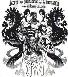 Milos's Gym Shirt design by Iron Asylum Lion Pictures, Funny Pictures, Bodybuilding Pictures, Best Bodybuilder, Smile Wallpaper, Veneno, Epic Art, Cute Monsters, Gym Shirts