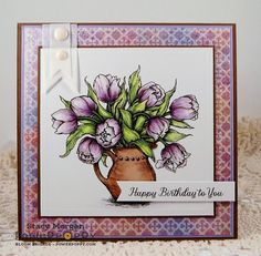 Twinshappy: Birthday Tulips