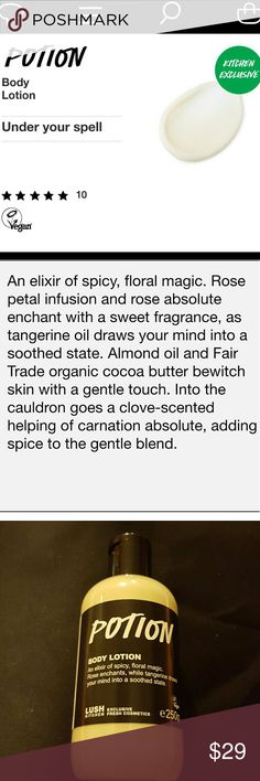 LUSH Cosmetics RARE Love perfume Incredibly rare! Lush Love ...