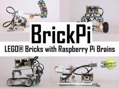 BrickPi: LEGO® Bricks with a Raspberry Pi Brain by Dexter Industries — Kickstarter