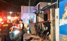 Policiacas: Ciudad del Carmen / Incencia camioneta - Luces nav...
