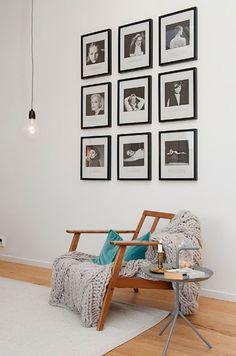 Nordic Duplex: 102 m² one bedroom Room Decor, Wall Decor, Diy Wall, Duplex, Living Spaces, Living Room, One Bedroom, House Colors, Interior Inspiration