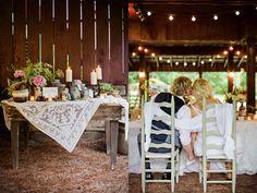Country wedding decor, and idea for Sara :)