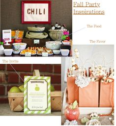 #fall party inspirations