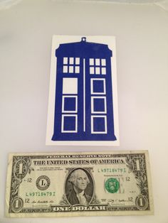 LARGE Doctor Who Tardis Vinyl Sticker / Decal by evebelieves, $5.00