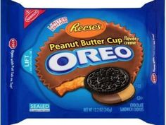 A whole new flavor! Reese's Peanut Butter Cup flavor Oreo cookies
