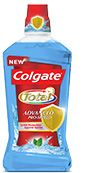 Toothpaste - Gum Defense, Enamel Strength, Advanced: Whitening, Clean and Fresh, Clean Mint & Stripe - Colgate Total The latest member of the Colgate Total® family. Use it together with the toothpaste and toothbrush to complete your daily mouth health routine.