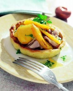 Tartaletas de perdiz y mango