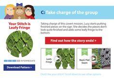 Like this leaf fringe