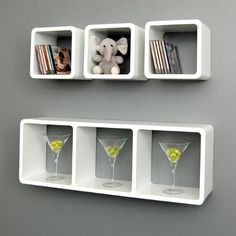 4 set XL lounge cube shelf design retro wall shelf stand shelf hanging shelf white matt ts-ideen http://www.amazon.co.uk/dp/B00EXHYVGU/ref=cm_sw_r_pi_dp_5a4-tb0CKAP62
