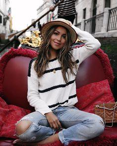 「la vita é bella ❤️ | wearing @sezane by @morganesezalory | snapped by my love @kevinberruuu」 Sincerely Jules waysify