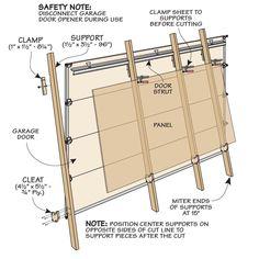 Garage Shop Panel Saw Garage Shop, Garage House, Woodworking Jigs, Carpentry, Cool Tools, Diy Tools, Cabinet Door Makeover, Garage Door Panels, Panel Saw