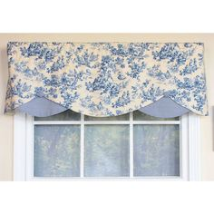 Shop for Country Fun Denim Petite Window Valance. Get free delivery On EVERYTHING* Overstock - Your Online Home Decor Outlet Store! Window Treatment Store, Bathroom Window Treatments, Valance Window Treatments, Bathroom Windows, Window Coverings, Window Valances, Cornices, Kitchen Window Dressing, Valences For Windows
