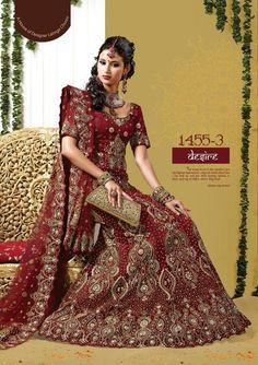 Beautiful Sri Lankan bridal saree.