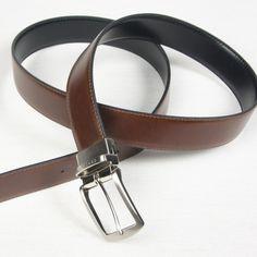 Cinturón Piel Reversible - Cinturones