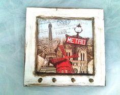 Porta Chaves -Porta Colar-Paris