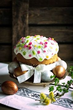 Russians have some of the most diverse and fascinating dishes in the world. New Year's Desserts, Christmas Desserts Easy, Spring Desserts, Cute Desserts, Slow Cooker Desserts, Easter Recipes, My Recipes, Champagne Cake, Vegan Candies