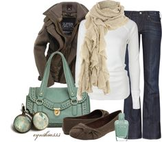 Perfect winter color combo!