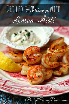 aoili shrimp dip Ingredients ½ Cup of Mayo ( light) ½ Tablespoon of Fresh Tarragon ( minced) 1 Lemon ( 1 teaspoon of lemon zest and 1 teaspoon of lemon juice) 1 Pound of Shrimp, peeled and deveined 2 Teaspoons of Olive Oil ½ teaspoon of paprika ½ teaspoon of salt Instructions Make the aioli first - in a small bowl whip together - mayo, tarragon, lemon zest Once well mixed place in the fridge In a bowl combine - shrimp, olive oil, lemon juice, salt, pepper, and paprika. cook shrimp in it.