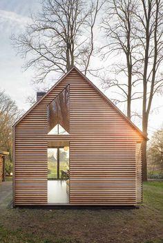 Домик для отдыха, дизайн Zecc Architecten+Roel van Norel
