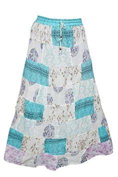 Summer Skirts, Bohemian Gypsy, Ethnic, Ballet Skirt, Turquoise, Indian, Amazon, Swimwear, Vintage