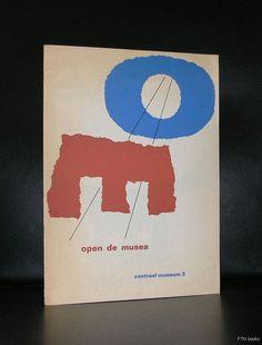 Willem Sandberg # OPEN DE MUSEA # 1973, nm-