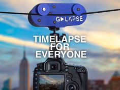 GoLapse is an easy and economical timelapse system that lets users leave the heavy rails at home.