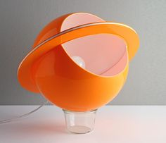 Space Age Lights Collection from the Exhibition at Triennale Design Museum