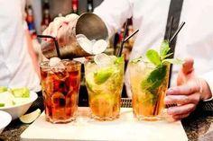 Famous Cuban Cocktails That Tell The History of Cuba - ASocialNomad Cocktail Names, Signature Cocktail, Cocktail Drinks, Fun Drinks, Alcoholic Drinks, Beverages, Bourbon Cocktails, Vodka Tonic, Tequila Sunrise