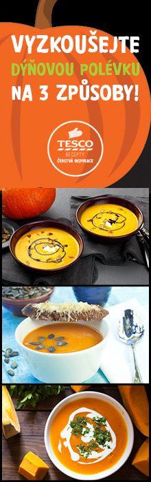 Máte rádi dýňovou polévku? Připravte si ji podle jednoho z našich receptů!