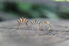 Ray rings by Edel Designer Jewellery