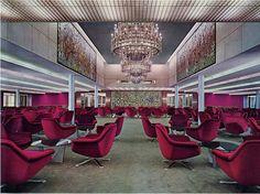 Italian Liner Michelangelo-Ballroom  First class ballroom, mid 1960s
