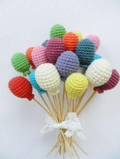 Yaseminkale: amigurumi balon yapılışı
