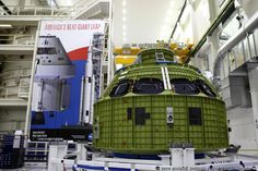Cage match for next Orion capsule at Kennedy Space Center