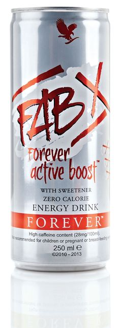 FAB X from Forever Living Products delivers the same benefits as our Forever Active Boost, with the same special combination of caffeine and guarana