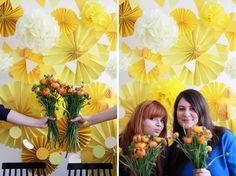 DIY-Photobooth-Background und Papierfächer von we love handmade
