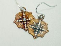 COMPASS ROSE EARRING  www.islandmoonjewelry.com