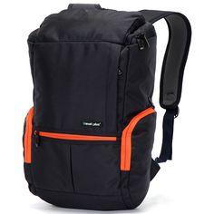 Značka Travel plus doporučuje řadu nových cestovních batohů a to nejen kvůli výbornému polstrování a prostoru, ale i díky kvalitě za nízkou cenu. Porovnejte batohy se značkou TP a na své cesty si vyberte ten správný! Například tento 0069 modré barvy. Na designu přidává pár oranžových detailů.