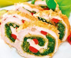 Chicken roulade - Cuisine of Czechia