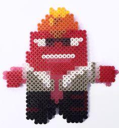 Anger - Inside Out Pixar Movie Hama Perler Beads