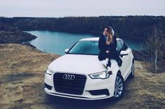 #Audi #A3 #Girl #Beautiful