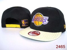 NBA Los Angeles Lakers Snapback Hats Black New Era 2612|only US$8.90