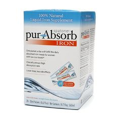 I've finally found the best iron supplements for anemia in this all natural product! No gastrointestinal side effects and can be taken on an empty stomach.