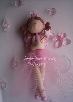 Móbile Princesa fada by Sonho Doce Biscuit *Vania.Luzz*, via Flickr