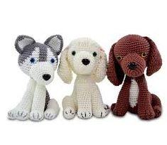 Amigurumi Receita de Cachorrinhos Little Monkeys, Little Pigs, Crochet Animals, Crochet Toys, Love Crochet, Crochet Baby, Crochet Dog Patterns, Crochet Ideas, Bear Photos