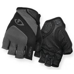Giro Monaco Cycling Gloves Charcoal/Black