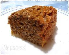 Adelgaza Con Susi: Bizcocho de salvados y zanahoria al estilo americano ( 145kcal)
