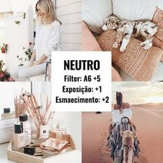 4 melhores filtros do VSCO para usar nas fotos 4 best VSCO filters to use on photos. As you already know, VSCO is my favorite photo editing app. I shared with you some photo edits, to have that cleaner, traveler, neutral and fashion feed! Photography Filters, Photography Editing, Instagram Theme Vsco, Instagram Feed, Wallpaper Travel, Lightroom, Fotografia Vsco, Fotografie Hacks, Photo Hacks