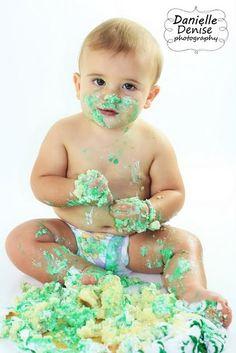 "We definitely take ""smash cake"" photos at Sears Portrait Studio!"